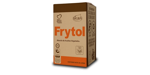 Frytol Bag In box